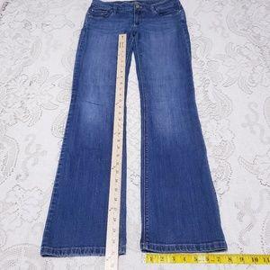 #623 WHBM BOOT LEG blue jeans *sz 4R